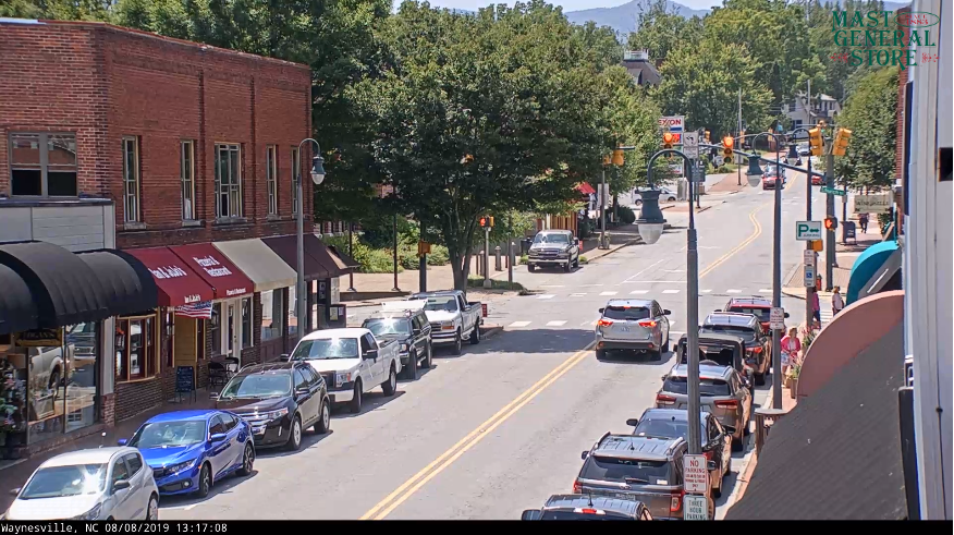Downtown Waynesville NC Webcam
